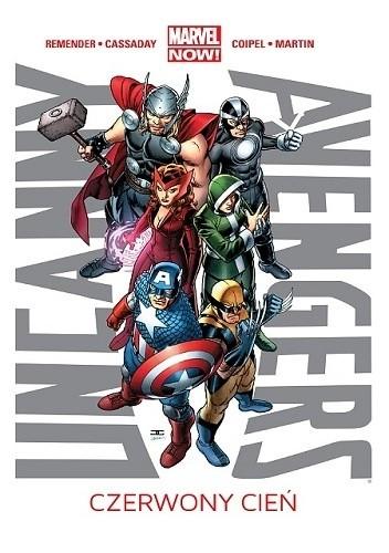 Okładka książki Uncanny Avengers: Czerwony cień