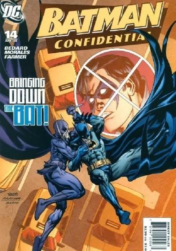 Okładka książki Batman Confidential #14