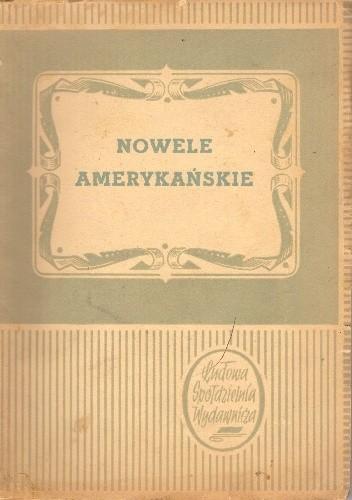Okładka książki Nowele amerykańskie