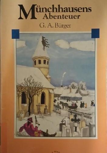 Okładka książki Münchhausens Abenteuer