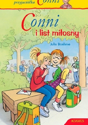 Okładka książki Conni i list miłosny