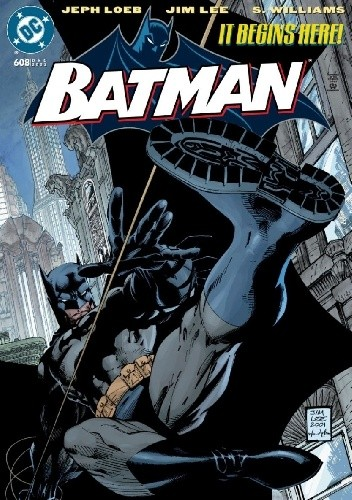 Okładka książki Batman #608