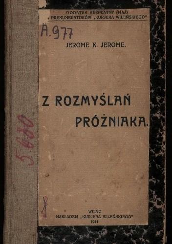 Okładka książki Z rozmyślań próżniaka