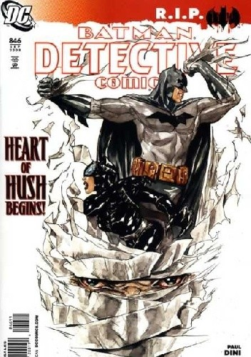 Okładka książki Batman Detective Comics #846