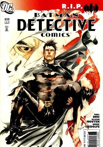 Okładka książki Batman Detective Comics #850