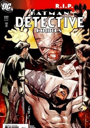 Okładka książki Batman Detective Comics #849