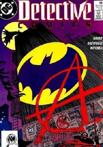 Okładka książki Batman Detective Comics #608