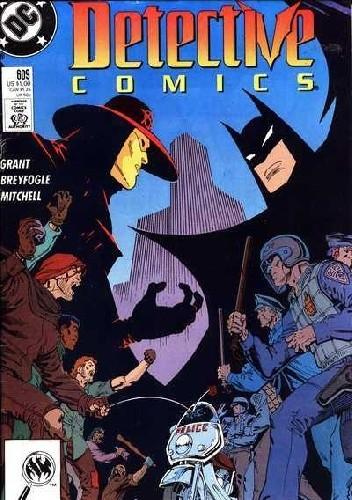 Okładka książki Batman Detective Comics #609