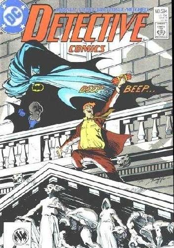 Okładka książki Batman Detective Comics #594