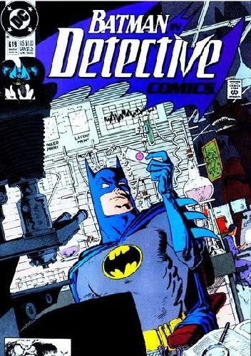 Okładka książki Batman Detective Comics #619
