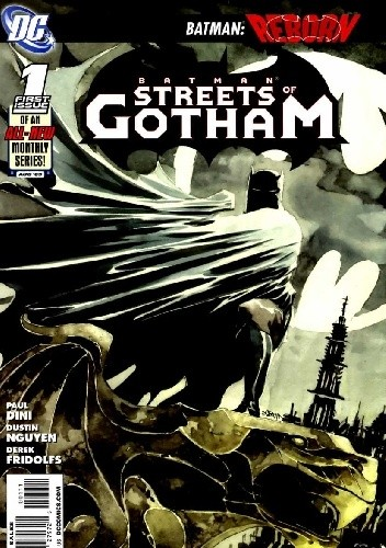 Okładka książki Batman: Streets of Gotham #1