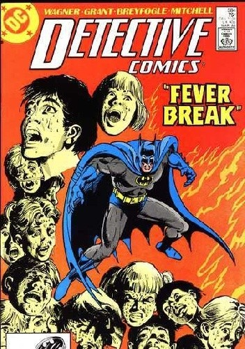 Okładka książki Batman - Detective Comics #584