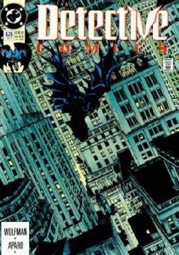 Okładka książki Batman - Detective Comics #626