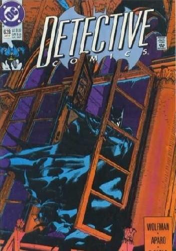Okładka książki Batman - Detective Comics #628