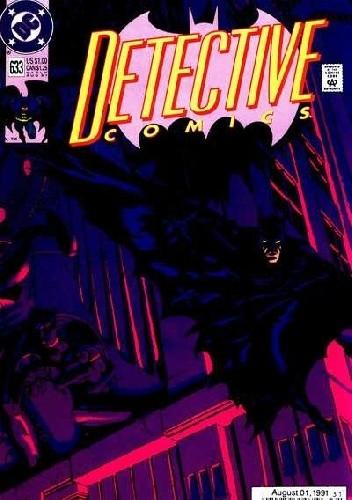 Okładka książki Batman Detective Comics #633