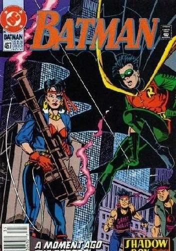 Okładka książki Batman #467
