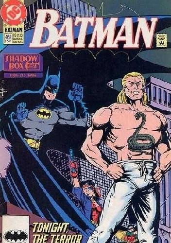 Okładka książki Batman #469