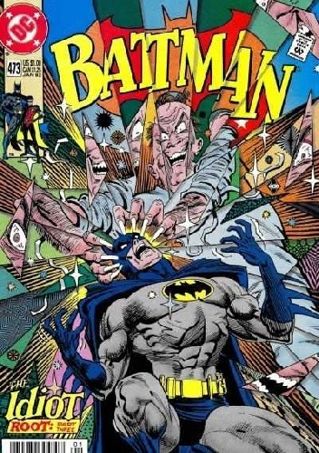 Okładka książki Batman #473