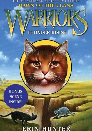 Okładka książki Warriors: Dawn of the Clans #2: Thunder Rising