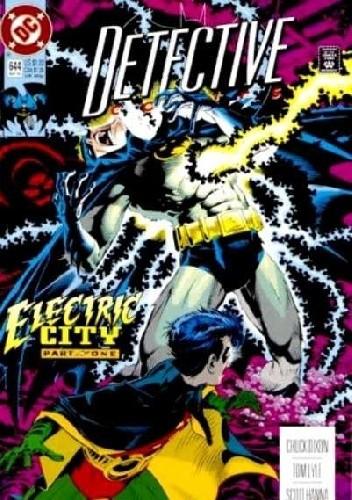 Okładka książki Batman Detective Comics #644