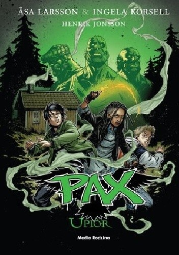 Okładka książki Pax. Upiór