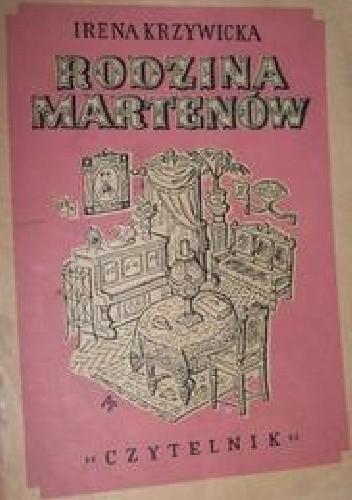 Okładka książki Rodzina Martenów
