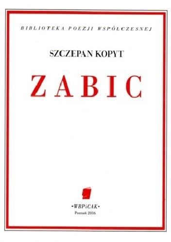 Okładka książki ZABIC