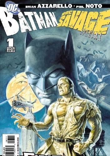 Okładka książki Batman/Doc Savage Special