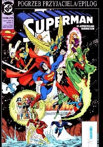 Okładka książki Superman 11/1996