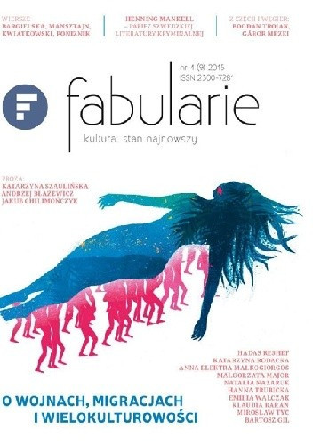 Okładka książki Fabularie nr4 (9) 2015