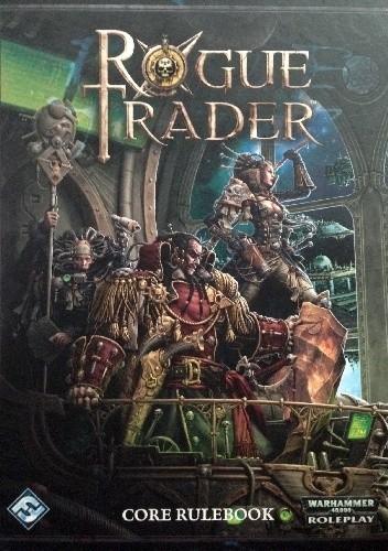 Okładka książki Rogue Trader Core Rulebook