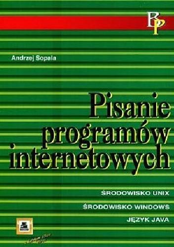 Okładka książki Pisanie programów internetowych