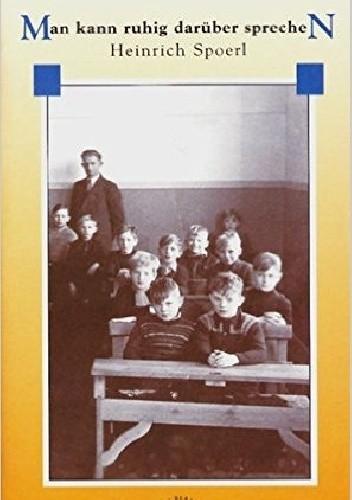 Okładka książki Man Kann Ruhig Darüber Sprechen