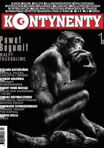 Okładka książki Kontynenty nr 1/2016