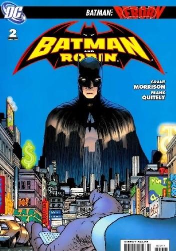 Okładka książki Batman and Robin #2