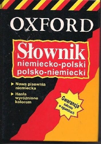 Okładka książki Oxford niemiecko-polski polsko-niemiecki