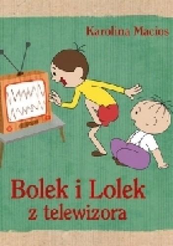 Okładka książki Bolek i Lolek z telewizora