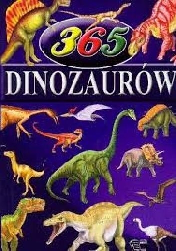 Okładka książki 365 Dinozaurów