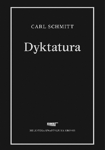 Okładka książki Dyktatura