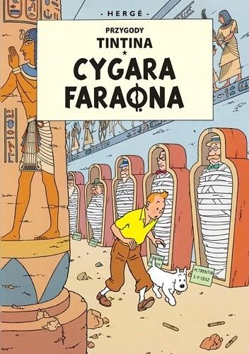 Okładka książki Cygara faraona