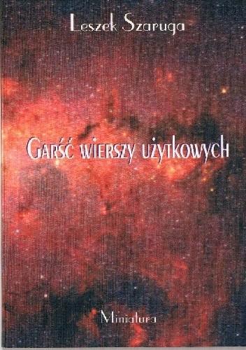 Okładka książki Garść wierszy użytkowych