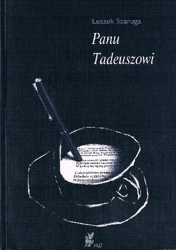 Okładka książki Panu Tadeuszowi