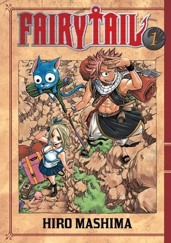 Okładka książki Fairy Tail tom 1