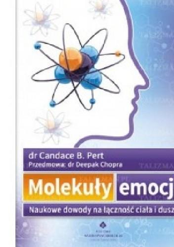 Okładka książki Molekuły emocji