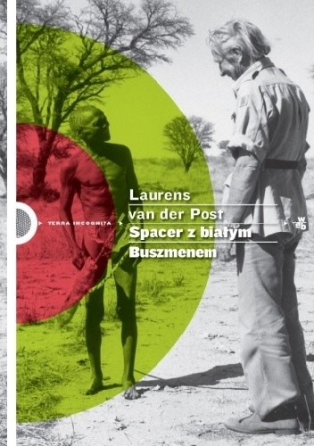 Okładka książki Spacer z białym Buszmenem
