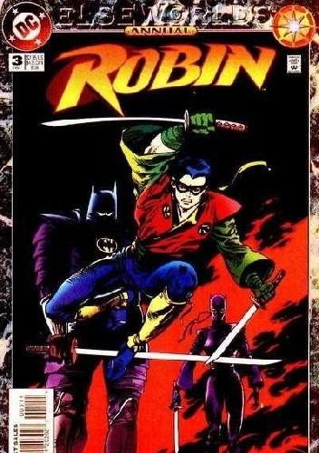 Okładka książki Robin Annual #3