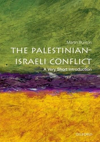 Okładka książki The Palestinian-Israeli Conflict: A Very Short Introduction