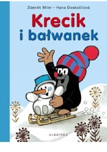 Okładka książki Krecik i bałwanek