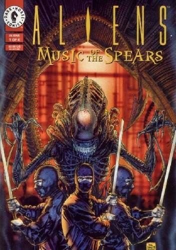 Okładka książki Aliens: Music of the Spears #1