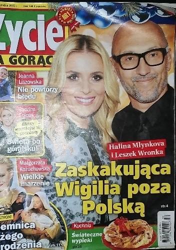 Okładka książki Życie na gorąco, nr 52/2015